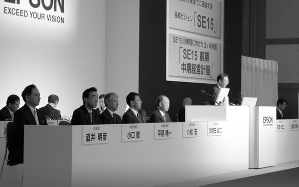 2009年6月の株主総会で「SE15」を説明した