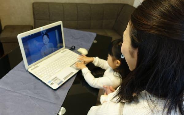 大阪シティ信用金庫では妊娠中や出産後の悩みを助産師に相談できるサービスを導入している=大阪シティ信用金庫提供