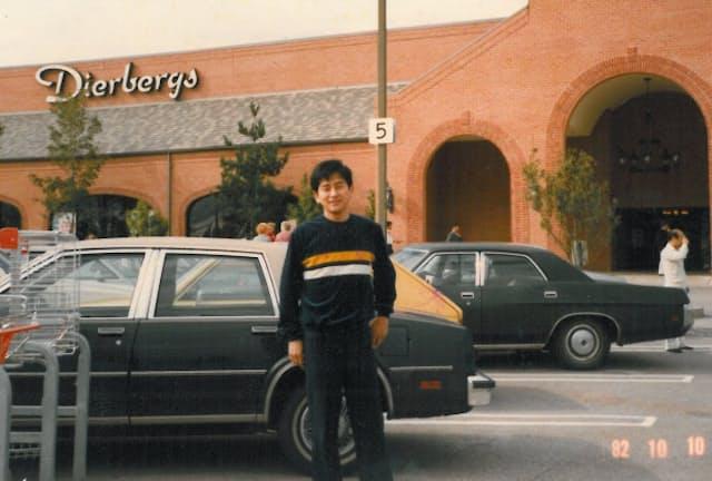 米国旅行ではFC店の社長などの接待を担当、1年の苦労をねぎらった
