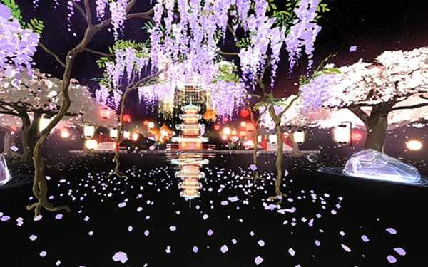 せきぐちさんの作品「Alternate dimension 幻想絢爛」は1300万円で取引された