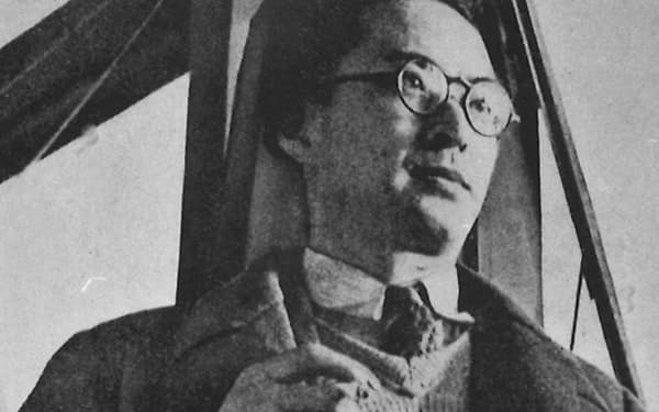 劇作家の久保栄先生=日本近代文学館提供