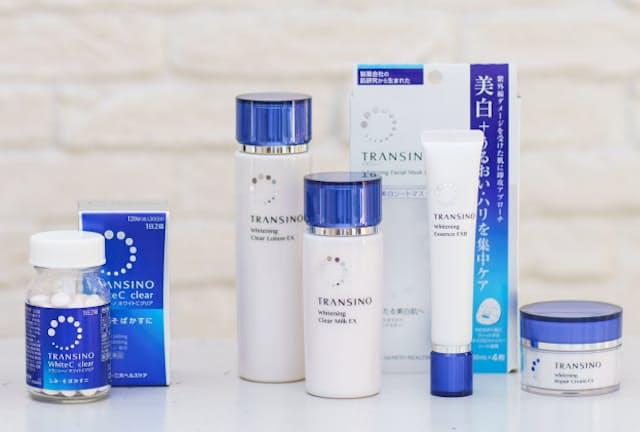 医薬品の技術を化粧品に応用したことを前面に打ちだす