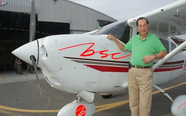 78歳で免許を返上するまで操縦かんを握っていた