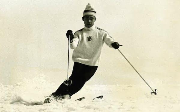 スキーは現在まで続けている