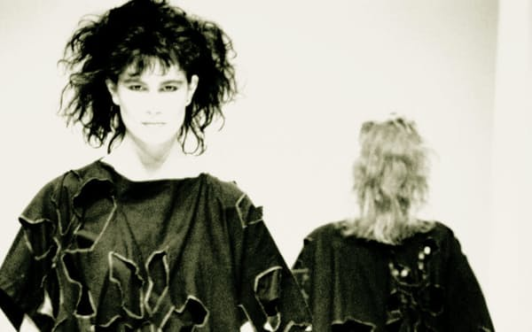 1982年秋にパリで披露した作品