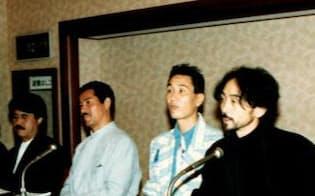 CFD設立の記者会見(1985年)