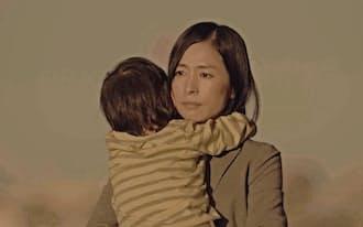 サイボウズが配信する動画「大丈夫」。西田尚美さんが「ワーママ」のリアルな日常を演じている