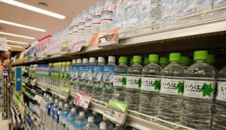 広がる環境配慮型のペットボトル