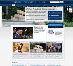 ペンシルベニア州立大学のサイト=www.worldcampus.psu.edu