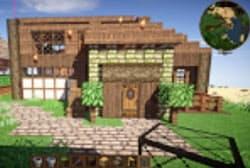 マイクラで中学生が作った建物
