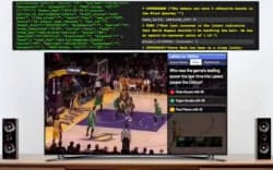 バスケットボールなどの試合の戦況をデータ入力してニュース記事の文体に変換する試みも