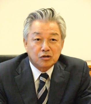 今秋スカイマーク会長に就任する佐山代表(東京・千代田)