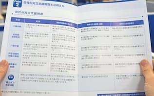 チューリッヒ保険はハンドブックを全社員に配布した