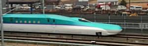 北海道新幹線の試験走行