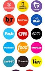 米スナップチャットはLINE同様、ニュース配信各社が十数枠並ぶ「ディスカバー」で話題に