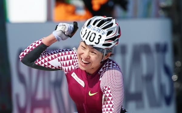 リオ内定条件を5分近く切る好タイムで東京マラソンを制した土田