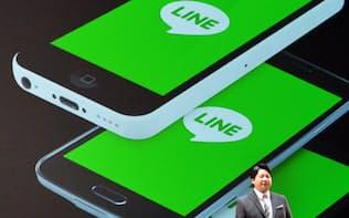 無料対話アプリのLINEが7月15日に東証に上場する