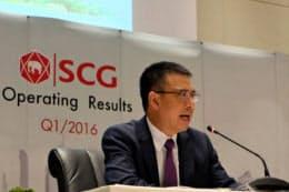 サイアム・セメント・グループ(タイ素材大手、SCG)のルーンロート・ランシヨパット社長兼最高経営責任者(CEO)