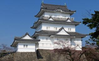 5月に再オープンした小田原城(神奈川県小田原市)