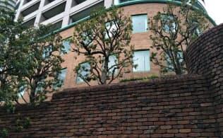 日本ロジテックが入居していた建物(東京都中央区)