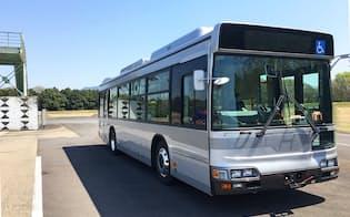 先進モビリティが研究で使用している実験用バス