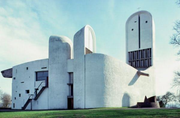 ロンシャンの礼拝堂(フランス、下田泰也氏撮影)