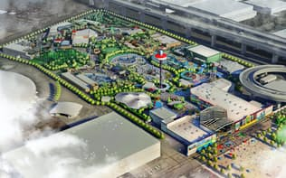 総事業費は320億円を見込んでいる(英マーリン・エンターテイメンツが名古屋市に建設する「LEGOLAND(R) JAPAN」《レゴランドジャパン》)