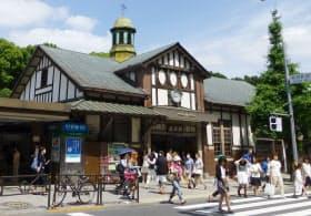 JR原宿駅の駅舎=共同