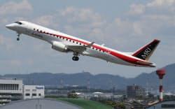 三菱重工業の国産ジェット旅客機MRJ