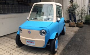 リモノ(東京・中央)の電気自動車試作車