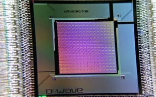 ディーウエーブシステムズが開発した量子コンピューターの中央演算処理装置