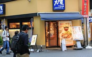 定食屋「大戸屋ごはん処」は幅広い層に人気だが、最近は客足が鈍っている(創業の地の池袋の店舗)