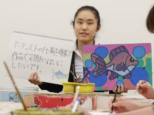 大山陽菜(18)会社員、東京都在住。自閉症で障害者雇用をする会社に入社