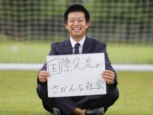 岡畑伶旺(18)英国留学中の高校生、和歌山県田辺市出身