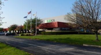 自動車用触媒の生産を始めた三井金属の米工場(米ケンタッキー州)