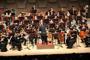 読売日本交響楽団は初めてフェスティバルホールで大阪定期公演を開いた(大阪市北区)(C)読響