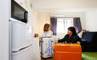 マンションの一室を利用して観光客を泊める(大阪市)