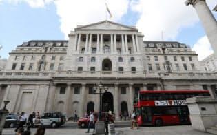 英中銀は市場にLIBOR依存を脱却するよう求めている(イングランド銀行本店)