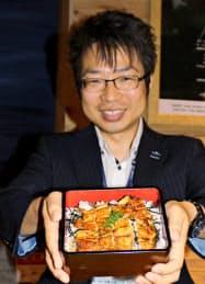 20日、記者向けの試食会で明らかにした(大阪市内)