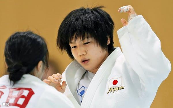 中村は3度目の五輪。北京では銅メダル、ロンドンでは初戦敗退だった=共同
