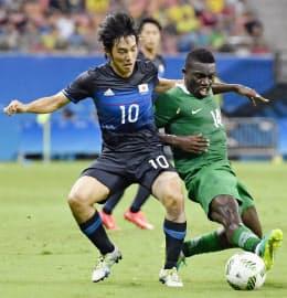 今回の五輪の成否を決めたのは初戦のナイジェリア戦の最初の15分だった=共同