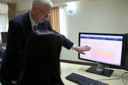 タイのバムルンラード病院ではがん治療にワトソンを活用し、治療法ごとの生存率などを判断している(バンコク)