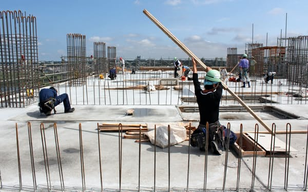 建設業は人手不足の代表だ