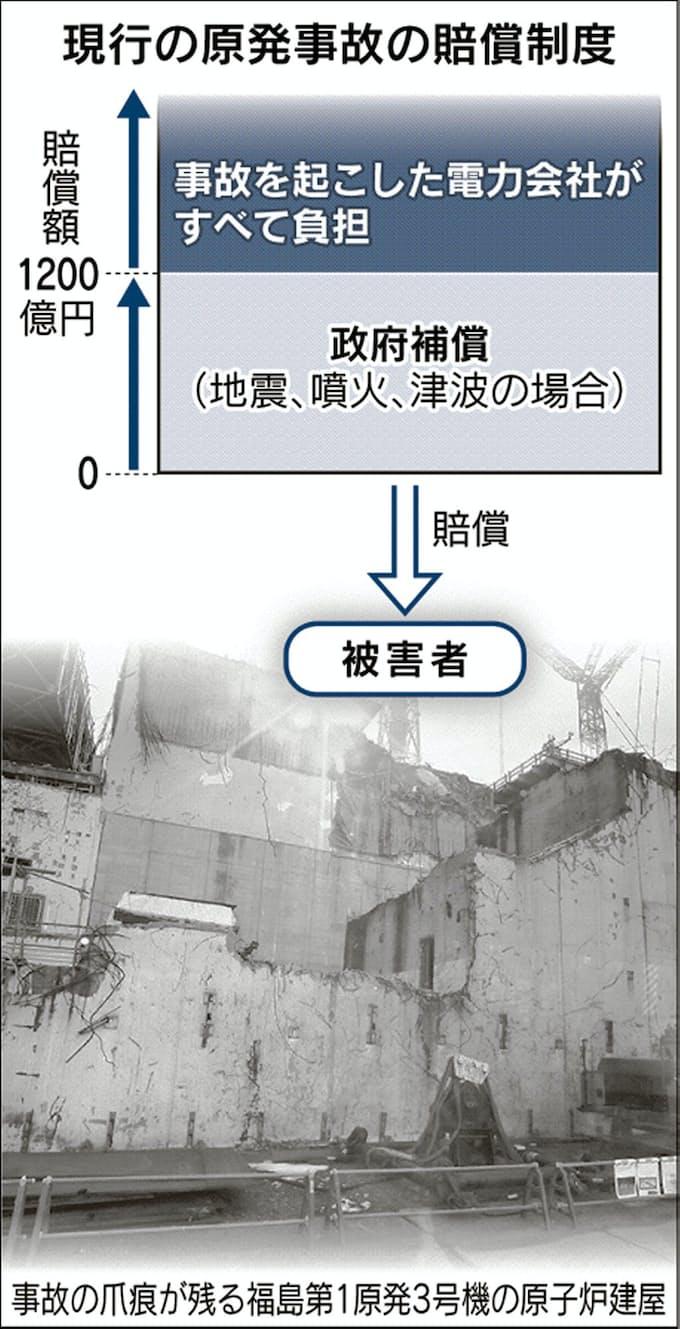 無限責任」撤廃、結論出ず 原発事故賠償: 日本経済新聞