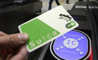 電子マネー「Suica(スイカ)」のカード