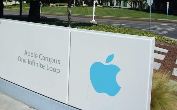 アップルの本社(カリフォルニア州クパチーノ)