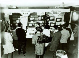 ダイエーの13型カラーテレビ「ブブ」は発売当初、低価格で話題を集めた
