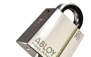 通信用の半導体を内蔵したアブロイ社の電子錠