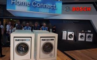 「ホームコネクト」のもとに洗濯機などあらゆる家電がつながる