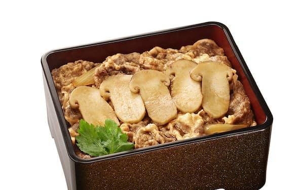 吉野家が数量限定で発売する「松茸牛丼」